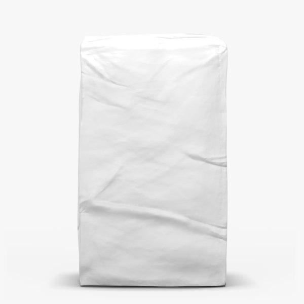 3d model white bag