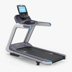 precor trm 885 treadmill 3D model