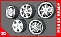 package wheels rims model