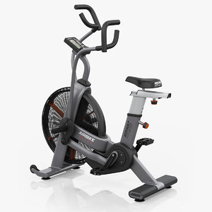 3D model precor assault airbike elite