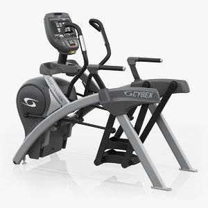 3D precor exercise bike model