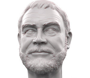 printable portrait sean connery model