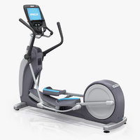 precor efx 885 elliptical 3D