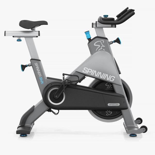 precor exercise bike 3D model