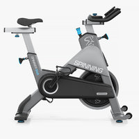 precor exercise bike 3D model