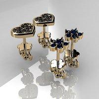 litle earrings