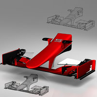 3ds wing ferrari sf15t