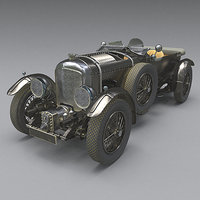 bentley 4 5 litre 3D model
