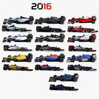 Formula 1 2016 cars