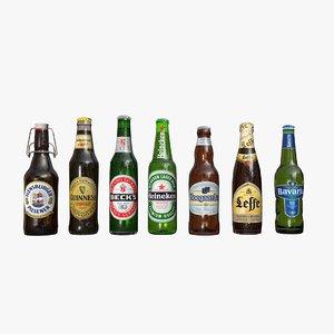 beer scene c4d