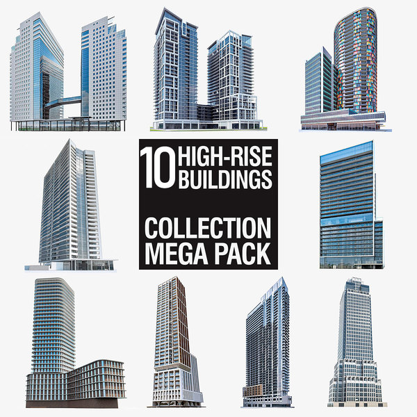 max high-rise buildings