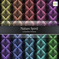 Nature Spirit Seamless Cotton Fabric Textures