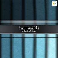 Sky Microsuede 10 Seamless Fabric Textures