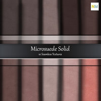 Solid Microsuede 10 Seamless Fabric Textures