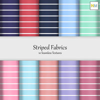 Striped 10 Seamless Fabric Textures
