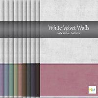 White Velvet Wallpaper Textures