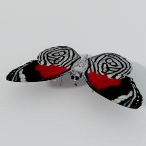 butterfly 89 3D model