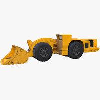 underground loader 3d max