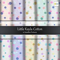 Little Kayla Cotton Fabrics 10 Seamless Textures