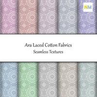 Ara Laced Cotton Fabrics 10 Seamless Textures