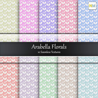 Arabella Cotton Fabrics 10 Seamless Textures