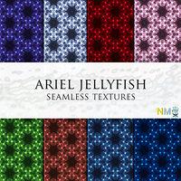 Ariel Jellyfish 10 Seamless Textures
