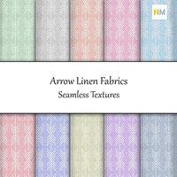 Arrow Linen 10 Seamless Fabric Textures
