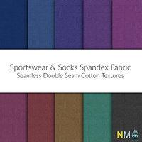 Spandex Fabrics 10 Seamless Textures