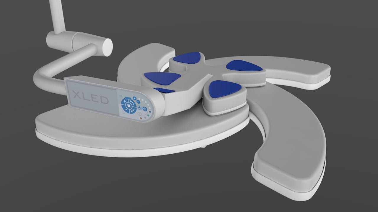 xled surgical light steris 3D model
