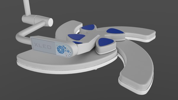 xled surgical light steris 3D model