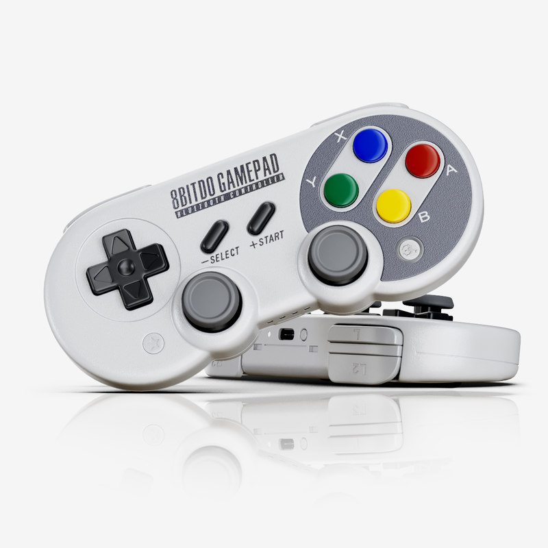 bitdo gamepad sf30 pro 3D model