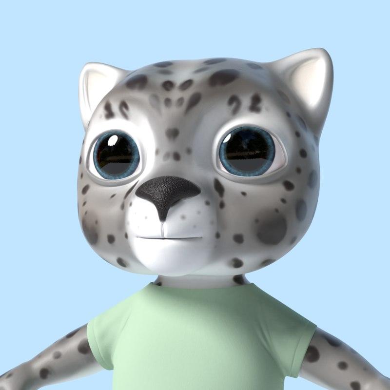 toonish toon 3D model