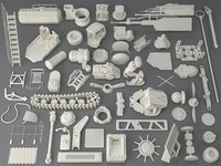Kit bash(56 pieces) - collection-8