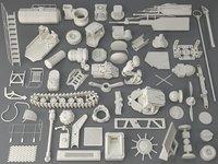 kit bashes - 56 3D model