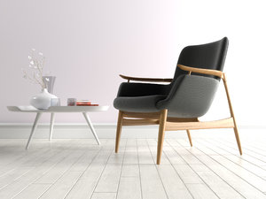nv 53 easy armchair 3D model