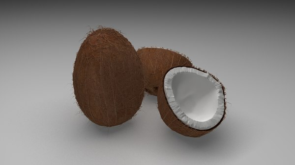 3D kokos