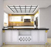 kitchen Interior 3D Model