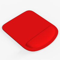 red mousepad 3D