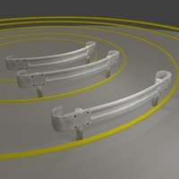 3D guardrail - japanese curved