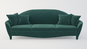 3D sofa heritage cortes model