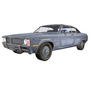 3D generic coupe car