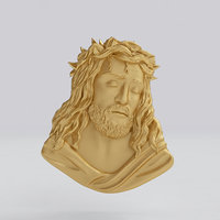 Jesus representation of face