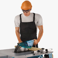 3D workman circular saw makita