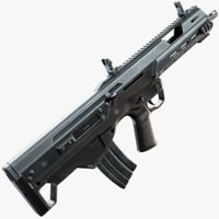 MSBS 556B Assault Rifle
