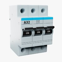 Electric Automatic Switch A32 3-Poles