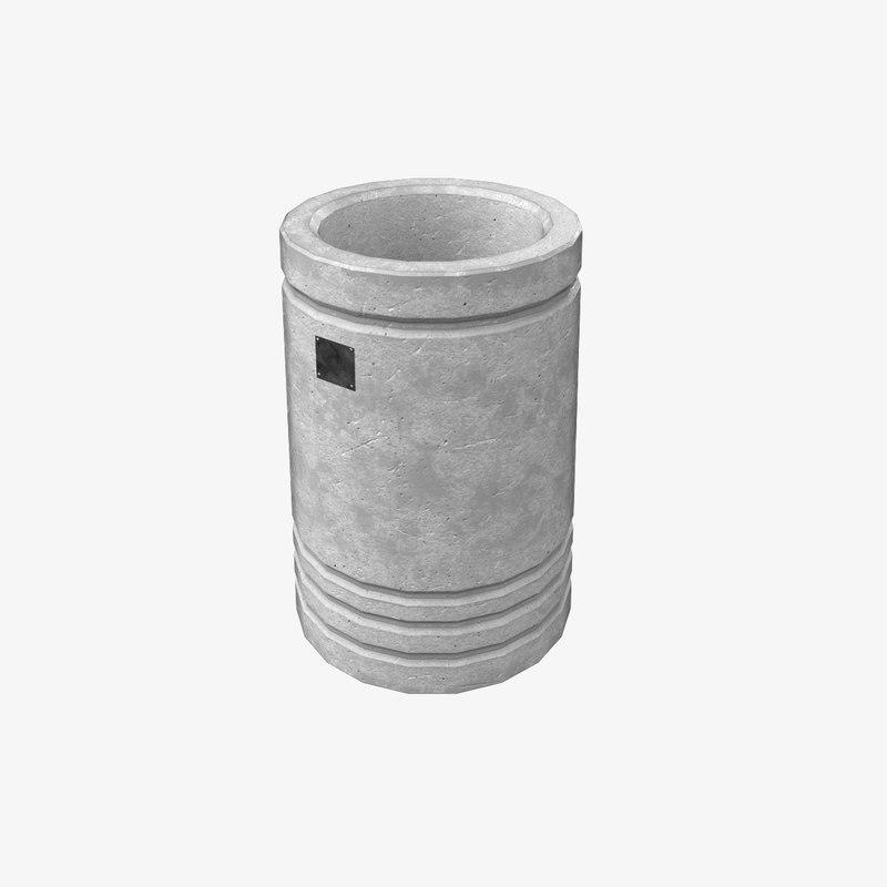 trashcan ready games 3D model