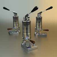 home espresso 3D model