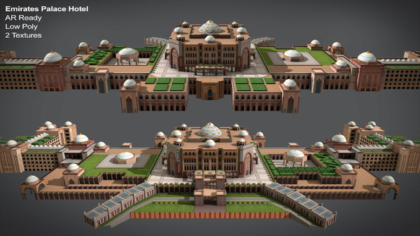 3D model emirates palace hotel