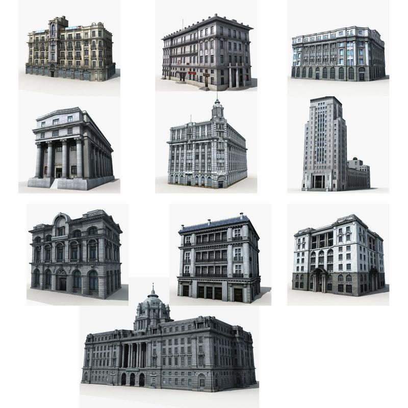 old building 3D