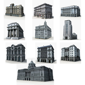 old building 3D